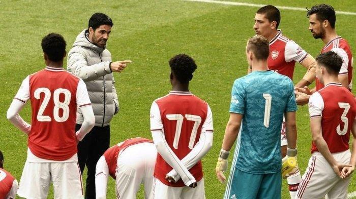 Jadwal Live Streaming Arsenal vs Southampton di Liga Inggris, Kieran Tierney Dukung Mikel Arteta