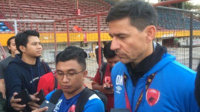 Amido Balde Cedera, Pelatih PSM Siapkan Ezra Walian Hadapi Tira Persikabo