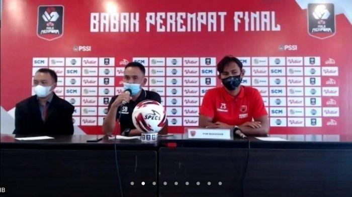 Siap Lawan PSIS, Syamsuddin Batola Sampaikan 3 Pesan ke Pemain PSM