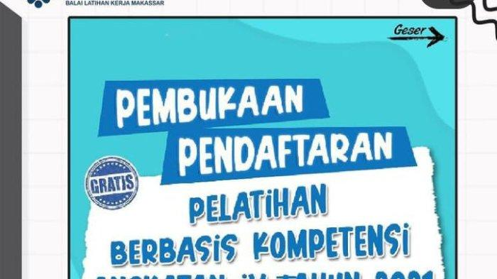 Mau Jadi Tenaga Kerja Profesional? Daftar di BLK Makassar, ini Prosedur dan Syaratnya