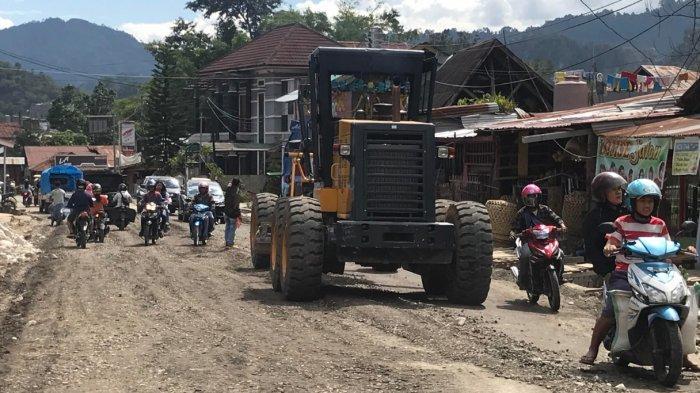 Macet di Tallunglipu Toraja Utara, Ada Pelebaran Jalan
