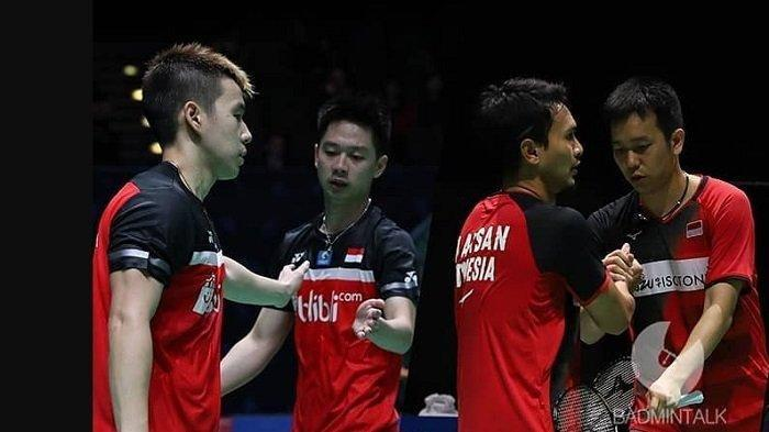 Menakar Peluang Ahsan/Hendra dan Marcus/Kevin Mengulang All Indonesian Final Indonesia Masters 2019