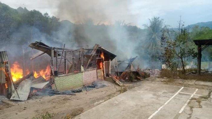Kerugian Kebakaran di Ponpes Umar Bin Abdul Aziz Rumbo Enrekang Ditaksir Capai Rp 150 Juta
