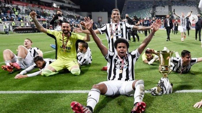 4 Fakta Juventus Juara Copa Italia, Buffon Sang Legenda hingga Magis Andrea Pirlo