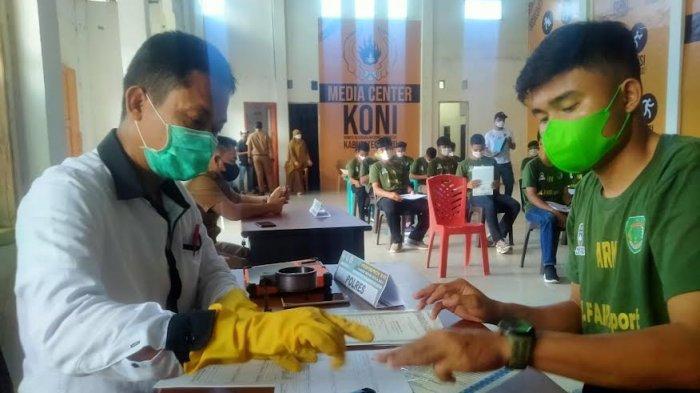 Pra Porprov Sepak Bola Zona 5 Digelar Besok di Luwu, Pemain 3 Tim Jalani Screening
