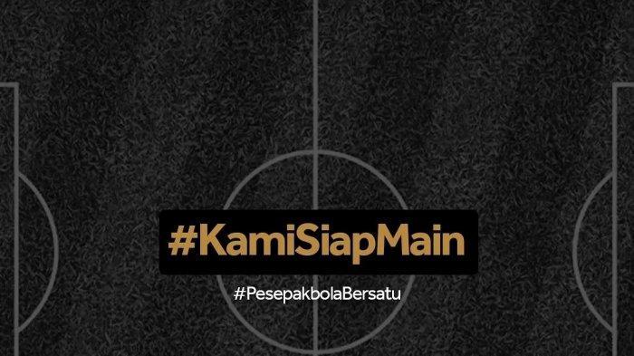 Pemain PSM Kampanyekan #Kami Siap Main dan #Pesepakbola Bersatu