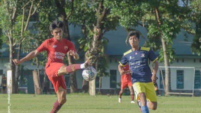 Tiga Pertandingan Uji Coba, Penyerang Sayap PSM Rizky Eka Cetak Tiga Gol