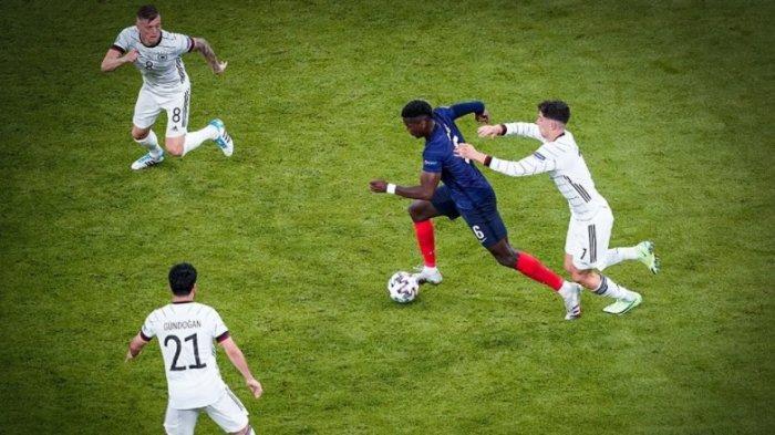 Duet Pogba dan Kante Bikin Kross dan Gundogan Seperti Pemain Biasa Saja, Perancis Bungkam Jerman