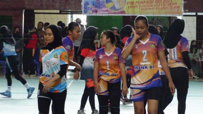 Tim Putri Bola Voli Luwu Utara Susul Putra Lolos Porprov Sulsel 2022