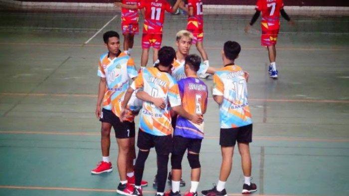 Tumbangkan Palopo, Tim Bola Voli Putra Luwu Utara Melaju ke Porprov Sulsel 2022