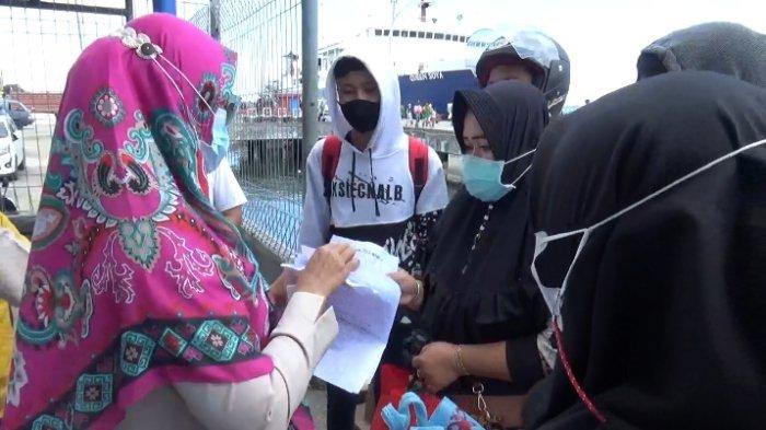 Jelang Larangan Mudik Lebaran, Satgas Bersama TNI-Polri Pantau Pelabuhan Nusantara Parepare