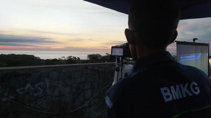 Hari Pertama Pemantauan di GTC Makassar, Kemenag Sulsel: Hilal Belum Terlihat