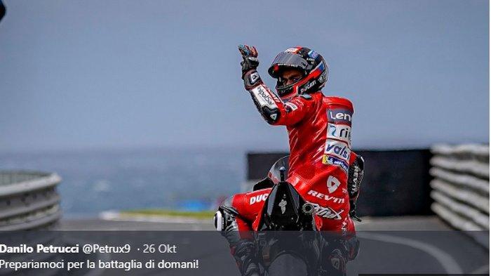 Tak Lagi di Ducati, Danilo Petrucci Bakal Perkuat Tim Setelit KTM pada MotoGP 2021