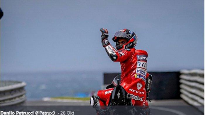 Didepak Ducati, Danilo Petrucci Akui Masih Ingin Bertahan di MotoGP