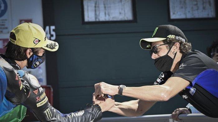 Moto2 Prancis 2020 - Luca Marini Alami Kecelakaan di Le Mans, Valentino Rossi Panik
