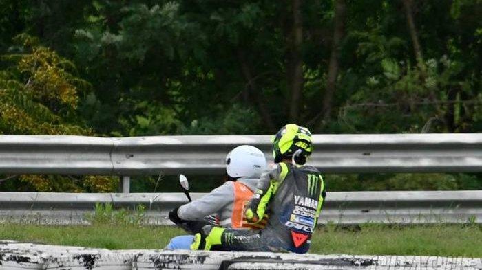 Crash di MotoGP Catalunya 2020, Valentino Rossi: Itu Sangat Memalukan