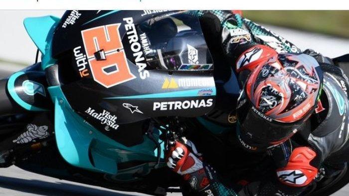 LIVE TRANS 7, LINK Live Streaming TV Online MotoGP Aragon 2020: Fabio Quartararo Pole Position