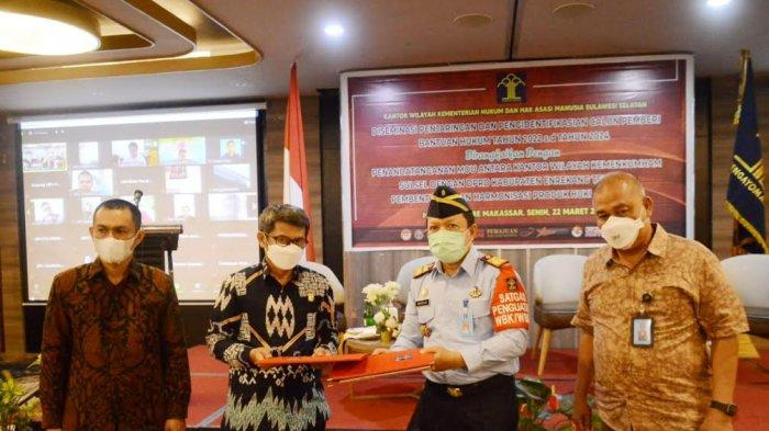 Kemenkumham Sulsel Gandeng DPRD Enrekang Bentuk Produk Hukum Daerah