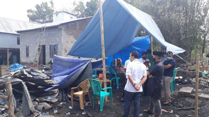 PT Semen Tonasa Santuni Korban Kebakaran di Desa Taraweang Pangkep