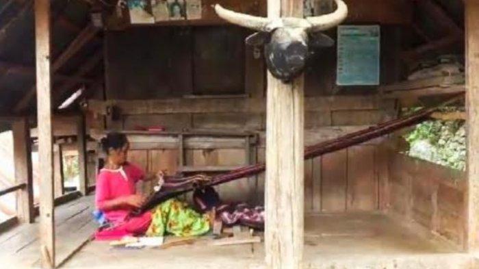 Kampung Sarang Dena', Kampung Tenun di Tana Toraja