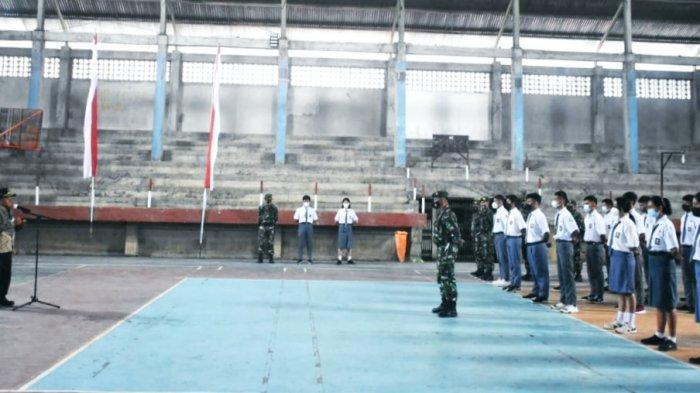 Bupati Toraja Utara Buka Pelatihan Calon Paskibra