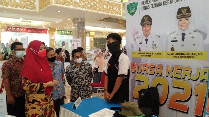 Job Fair 2021 Kabupaten Maros Masih Berangsung Hari Ini, 21 Perusahaan Cari Pekerja
