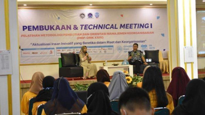 Pembukaan dan Technical Meeting I PMP-OMK XXIV LPM Penalaran UNM