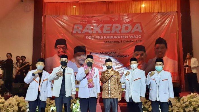 PKS Wajo Target Kursi Pimpinan DPRD di Basis Amran Mahmud