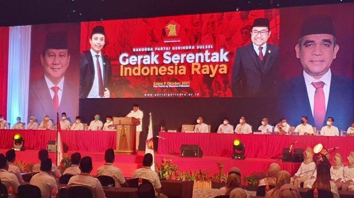 Kumpul di Makassar, Kader Gerindra Sulsel Deklarasi Prabowo Subianto Calon Presiden 2024