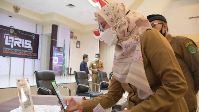 Transaksi Pembayaran PAD di Luwu Utara Gunakan QRIS