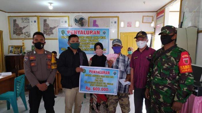 Jelang Idul Fitri, Pemdes Popo Takalar Salurkan BLT Dana Desa Tahap I