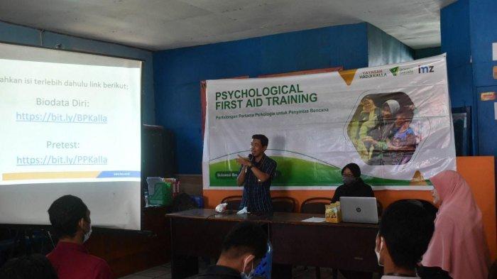 Yayasan Hadji Kalla Beri Pelatihan Trauma Healing ke 63 Pemerhati Kesehatan Mental di Sulbar