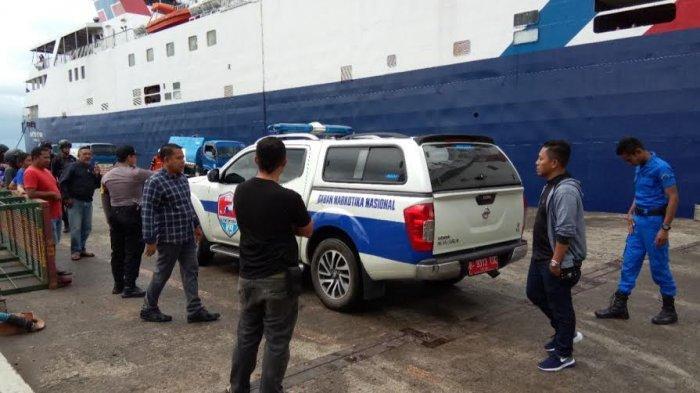 Antisipasi Masuknya Narkoba di Pelabuhan Nusantara Parepare, BNN Turunkan K9