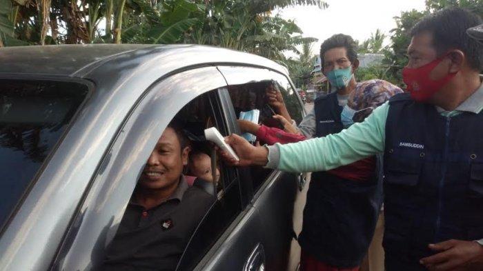 Cegah Varian Baru Covid-19 Jelang Iduladha, Satgas Periksa Pengendara di Desa Lentu Jeneponto