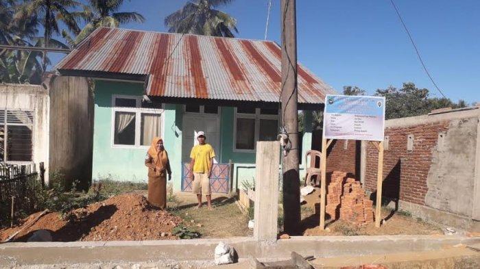 Pemerintah Desa Alesipitto Pangkep Bangun Pagar Poskedes