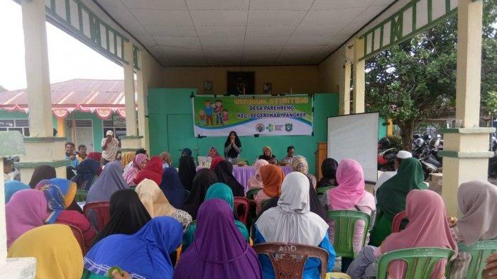 Desa Parenreng dan Mahasiswa KKN UIM Gelar Rembuk Stunting