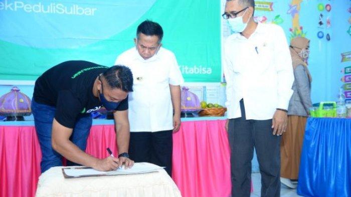 TK Pertiwi Malunda yang Hancur Akibat Gempa Majene Terima Bantuan Rp 165 Juta