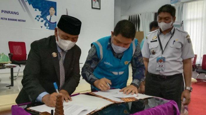 Jamin Pasokan Listrik Bagi Petani Bawang, Pemkab Enrekang Tekan Kerjasama dengan PLN UP3 Pinrang
