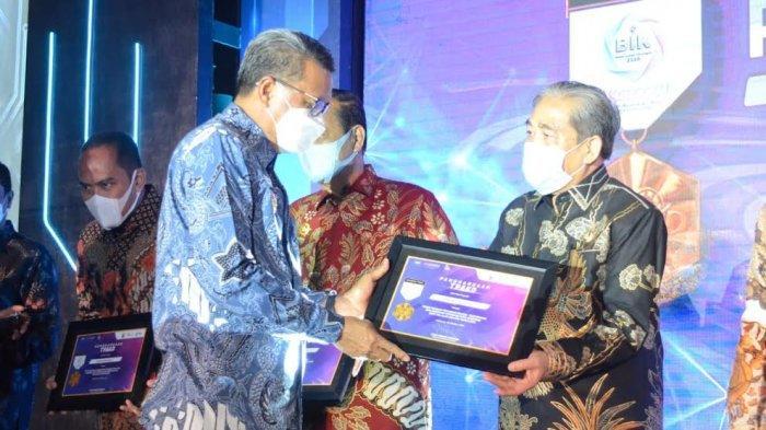 Pemkab Sidrap Terima Penghargaan dari OJK, Ini Prestasinya
