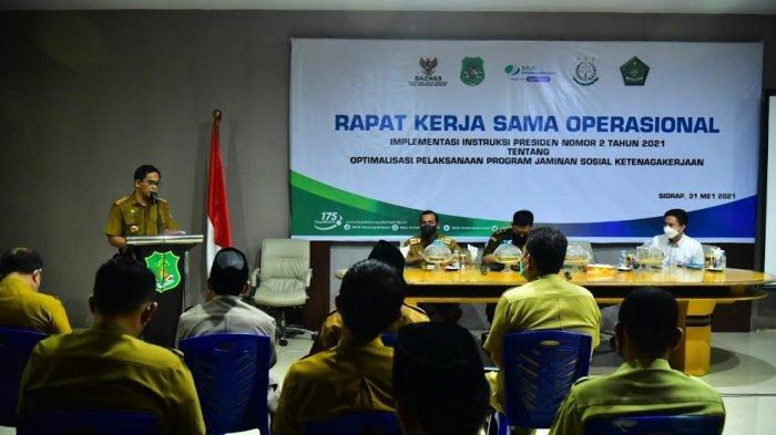 Pemkab Sidrap Alokasikan Anggaran Jaminan Sosial untuk 5.000 Tenaga Honorer