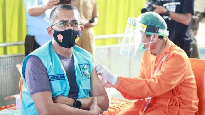 Sembilan Orang Penerima Vaksin Sinovac Perdana di Kota Parepare