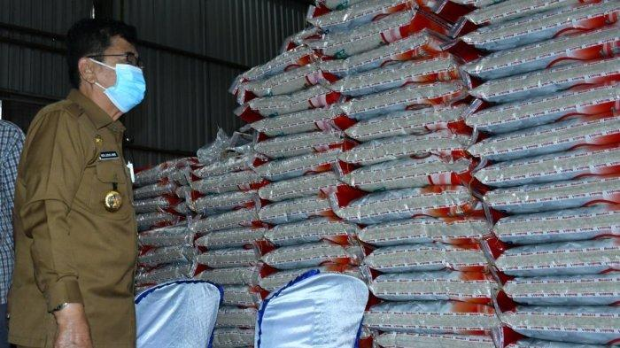 PPKM, 4.449 KPM PKH dan 8.586 KPM BST Terima Bantuan Beras di Palopo