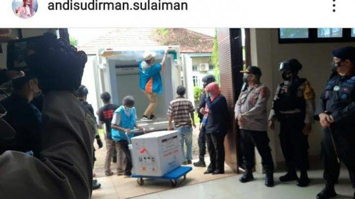 18 Ribu Vaksin Tiba di Sulsel, Plt Gubernur: Vaksinasi Dilanjutkan