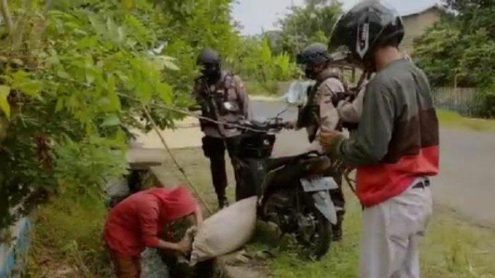Polisi Amankan Ratusan Liter Ballo di Desa Bontonyeleng Bulukumba