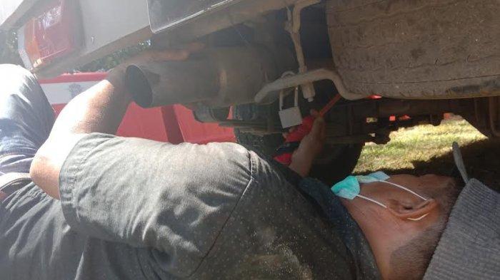 Nekat Pakai Knalpot Racing, 2 Pemilik Mobil di Jeneponto Disuruh Potong Knalpot Sendiri