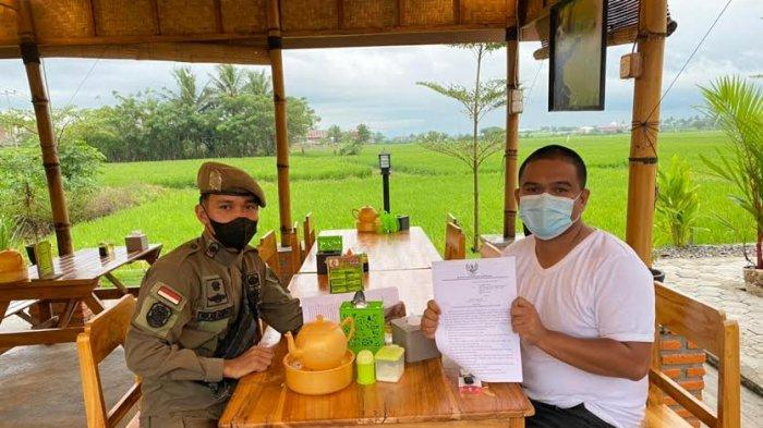 Pandemi Covid-19, Rumah Makan Tepi Sawah Sidrap Batasi Jam Malam