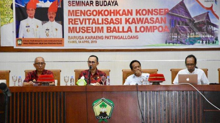 Budayawan Unhas Sebut Balla Lompoa Gowa Butuh Konsep 4.0