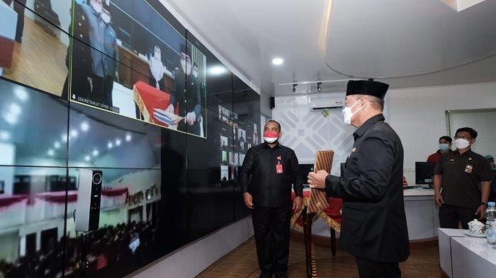 Pemkab Gowa Serahkan Ranperda APBD Perubahan Tahun Anggaran 2021 ke DPRD