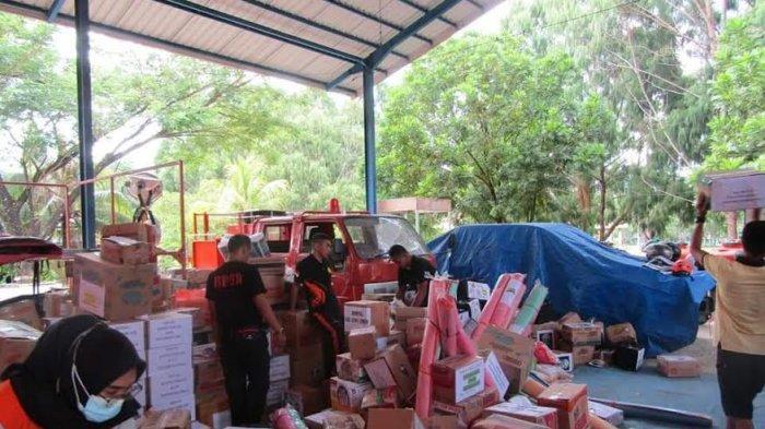 Pemkab Luwu Timur Kirim 3 Truk Bantuan untuk Korban Gempa Mamuju dan Majenne