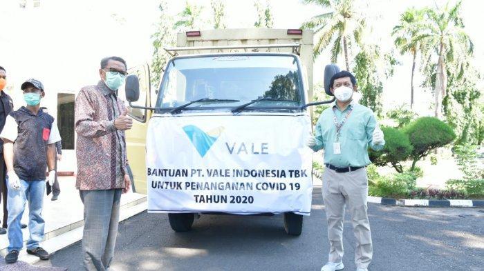 PT Vale kembali Salurkan Bantuan Alkes untuk Tangani Covid-19, Ini Rinciannya